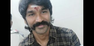 Pictures Of Dhanush Sporting Handlebar Moustache At Palani Murugan Temple Goes Viral