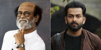 Prithviraj Sukumaran Regrets On Missing The Opportunity To Direct Rajinikanth