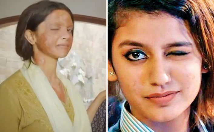 Priya Prakash Varrier's Reaction To Deepika Padukone's Wink Is Definitely Not Blink & Miss!