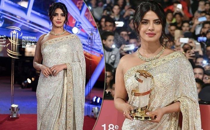Priyanka Chopra's Dazzling White Saree Is A Must Have This Wedding Season