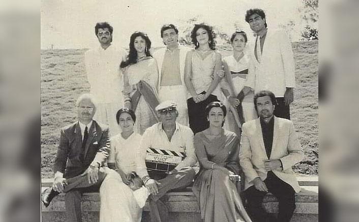 Rajesh Khanna, Anupam Kher, Rishi Kapoor & Anil Kapoor's Vintage Throwback Picture From Vijay Will Make You Nostalgic