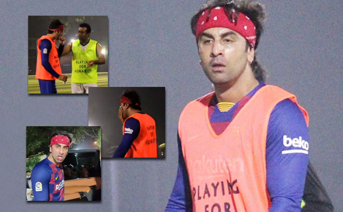 Ranbir Kapoor Gets His Lips Injured While Playing Football, Still Makes Fans Happy With Selfies