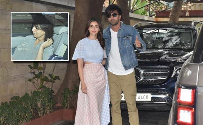 Ranbir Kapoor Snapped Outside Alia Bhatt's House With Mom Neetu Kapoor! Do We Hear Wedding Bells Soon?