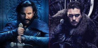 "Saif Ali Khan On Udaybhan Rathod's Comparision With Jon Snow: ""He Is 20 Times Cooler & A Bad A**"""