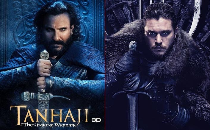 """Saif Ali Khan On Udaybhan Rathod's Comparision With Jon Snow: """"He Is 20 Times Cooler & A Bad A**"""""""