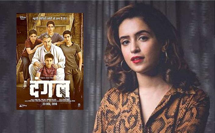 Sanya Malhotra gets emotional as 'Dangal' turns 3