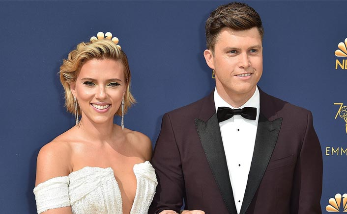 Scarlett Johansson jokes about engagement to Colin Jost