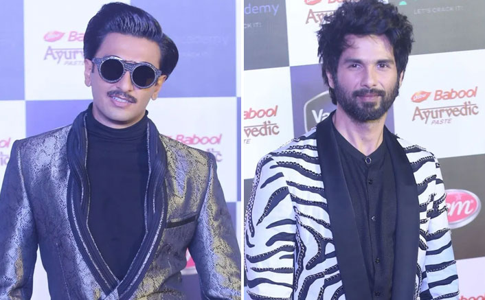 Shahid Kapoor Disappointed With Ranveer Singh Bagging Award At A Recent Event; Padmaavat Actor Walks Out?