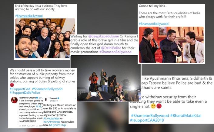 #ShameOnBollywood: Ayushmann Khurrana, Salman Khan, Taapsee Pannu & Celebs Receive Flak For Not Speaking Up!