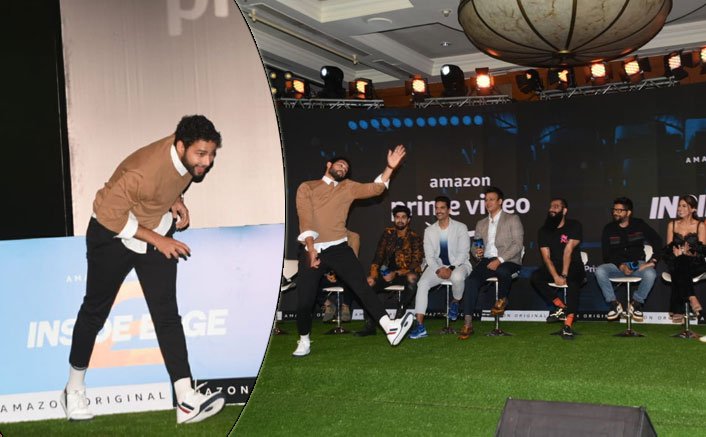 Siddhant Chaturvedi bowled out everyone at the Amazon Prime Video's Inside Edge 2's press conference