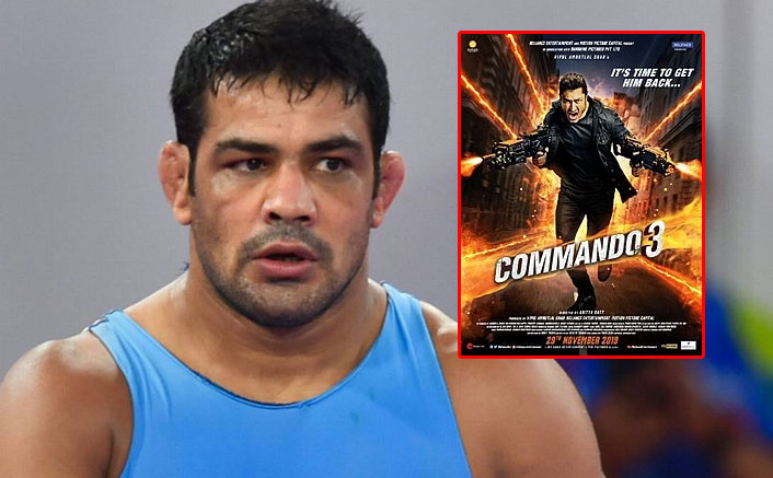 Sushil Kumar Slams The Makers Of Commando 3 For Showing Wrestlers In A Bad Light!