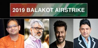 T-Series' next, a film by Abhishek Kapoor, on The Balakot Airstrike, is a Sanjay Leela Bhansali, Bhushan Kumar, Mahaveer Jain and Pragya Kapoor collaboration