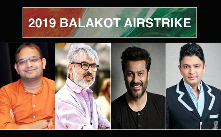 T-Series' next, a film by Abhishek Kapoor, on The Balakot Airstrike, is a Sanjay Leela Bhansali, Bhushan Kumar, Mahaveer Jain and Pragya Kapoor collaboration