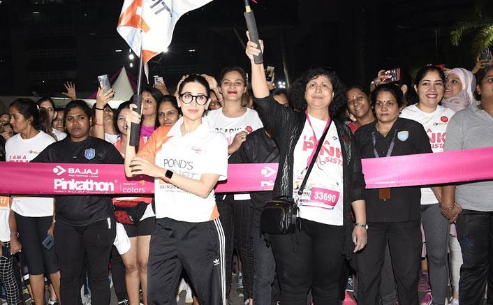 Pinkathon 2019: Karisma Kapoor & Tahira Kashyap Flag Off The Marathon & Cheer For Women