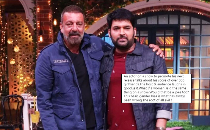 The Kapil Sharma Show: Sanjay Dutt Receives Backlash From This Actress On His '308' Girlfriend Comment