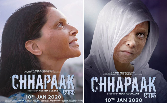 The latest posters from Chhapaak starring Deepika Padukone as Malti are out!