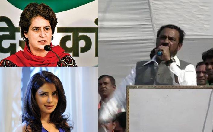 VIDEO: Congress' Surendra Kumar's Goof Up With 'Priyanka Chopra Zindabad' Instead Of Priyanka Gandhi Leads To HILARIOUS Reactions