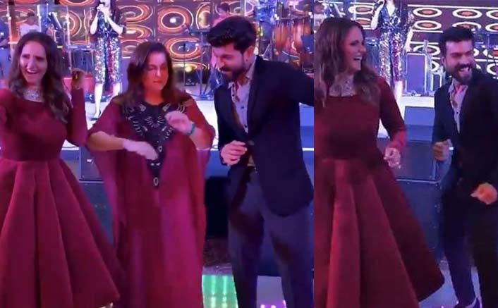 Video: Ram Charan Shakes A Leg With Sania Mirza & Farah Khan To The Tunes Of Ghungroo