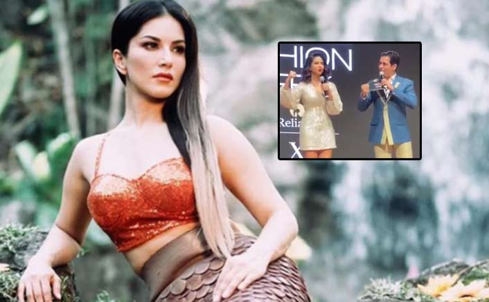 VIDEO: Sunny Leone Imitates Sunny Deol's 'Dhai Kilo Ka Haath' Dialogue In A Hilarious Way