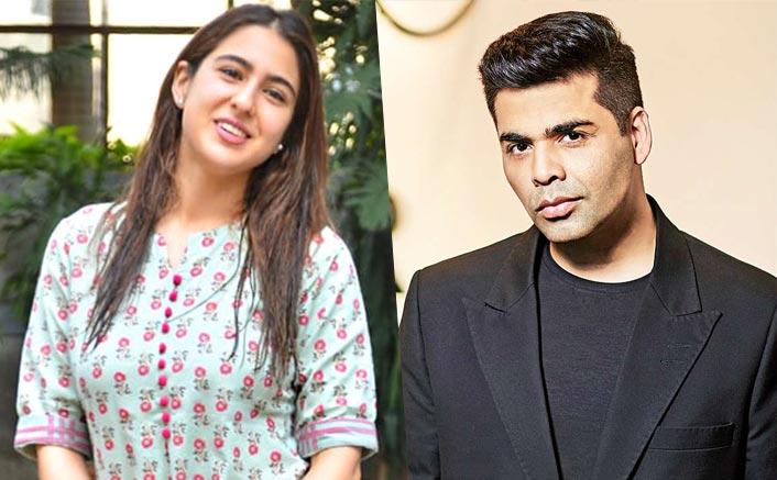 Sara Ali Khan In Karan Johar's Next? Well, The Spotting Hints So!