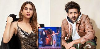 What Break-up? This Video Of Kartik Aaryan Saving Sara Ali Khan As She Almost Falls Off The Stage Is Winning Hearts