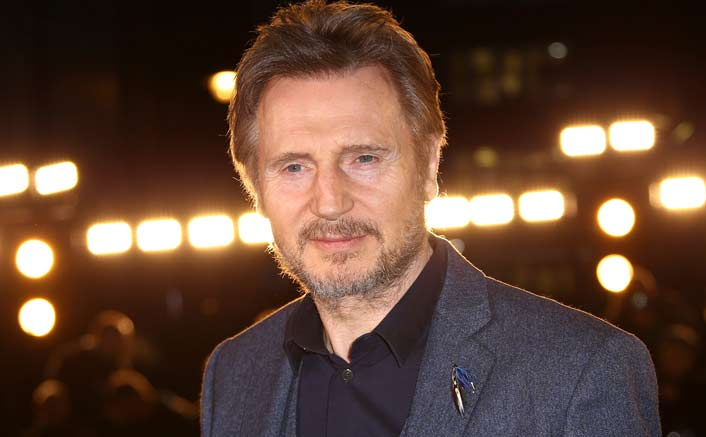 Not Only The Kardashians, But Liam Neeson Can Also POUT Ladies!