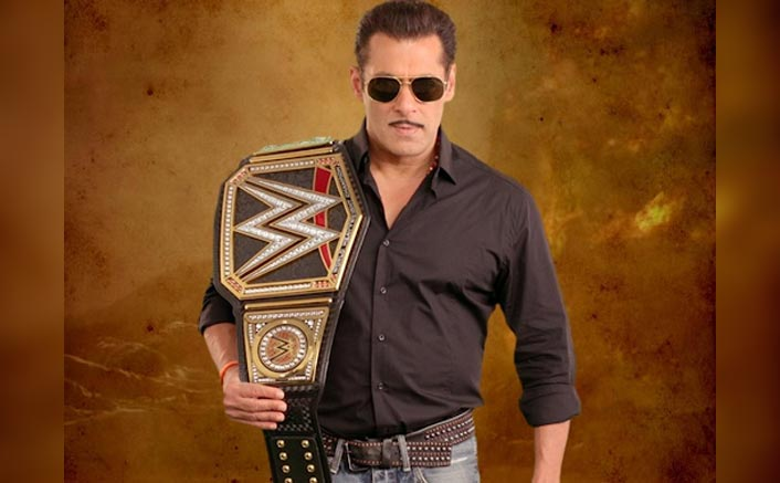 WOW! Salman Khan Gets A Customized Dabangg 3 Belt From WWE To Celebrate The Films Success