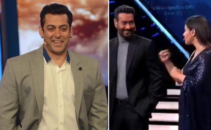 Bigg Boss 13: Kajol Slaps Ajay Devgn & Salman Khan Just Can't Stop Laughing!