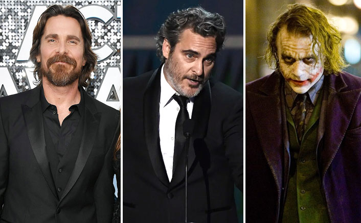 2020 SAG Awards: Joaquin Phoenix Asks Christian Bale To 'Suck Once', Remembers His Favourite Actor Heath Ledger