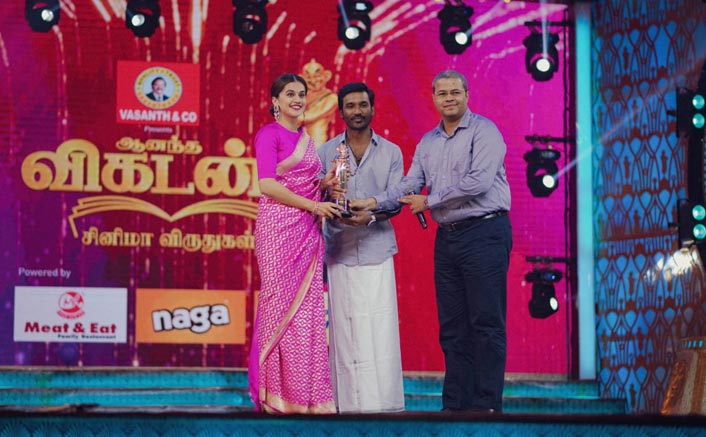 Taapsee Pannu Wins At Vikatan Awards For Game Over; Feels Elated To Have Made An Impact In Hindi & Southern States