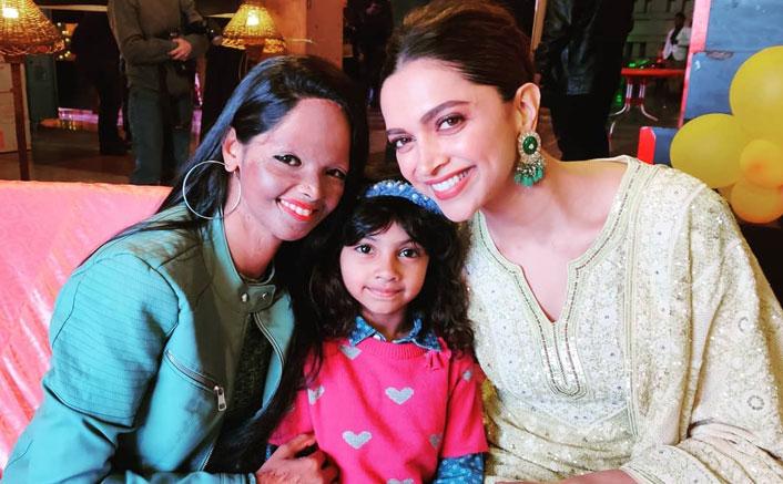 A heartwarming time! Acid attack survivor Laxmi Agarwal watches 'Chhapaak' with daughter
