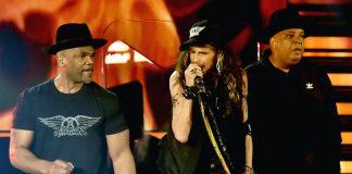Aerosmith reunites with Run-D.M.C. at Grammys gig