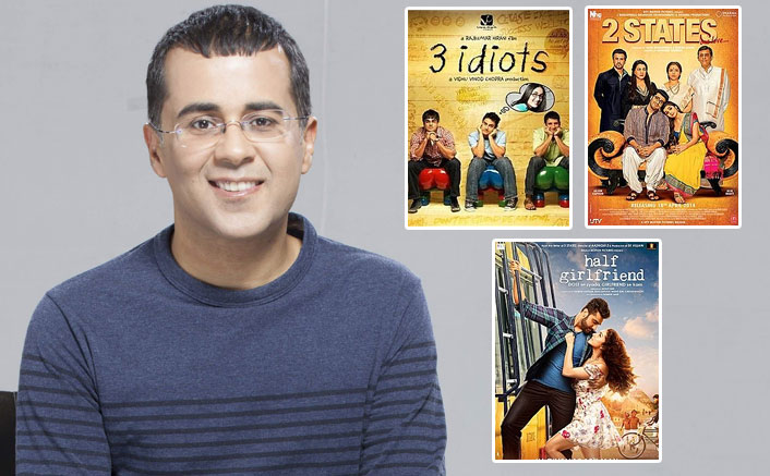 After 3 Idiots, 2 States & Half Girlfriend, Another Chetan Bhagat Novel To Gets Its Bollywood Adaptation!