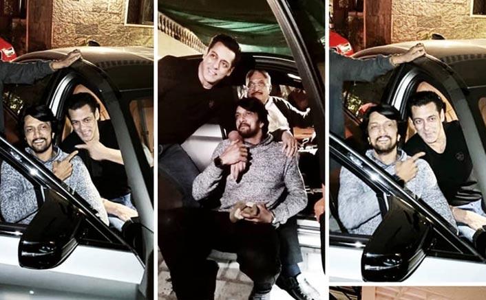 After A Cool Jacket, Salman Khan Gifts His Dabaangg 3 Co-Star Kichcha Sudeep An Expensive Car