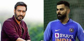 Ajay Devgn: Virat is the 'Tanhaji' of team India