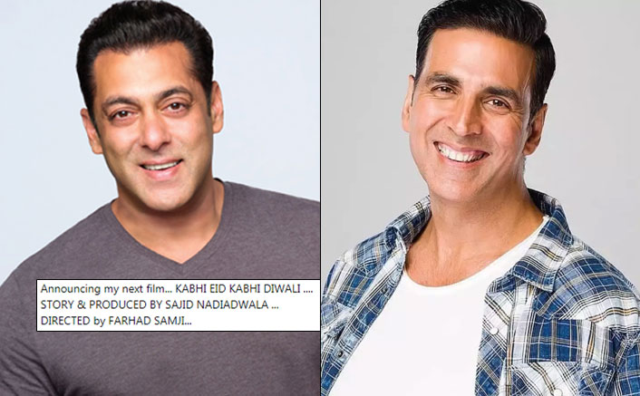 Akshay Kumar Suggests A Title For The Sequel Of Salman Khan's Kabhi Eid Kabhi Diwali; Is Khiladi Also A Part Of This?