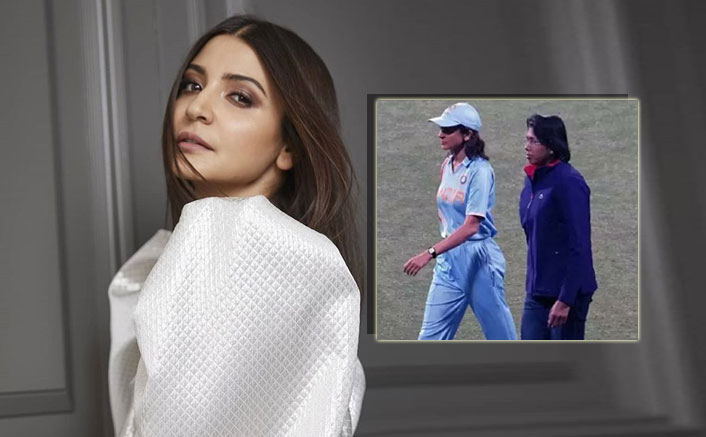 Anushka Sharma Shoots In A Jersey With Cricketer Jhulan Goswami! Is Her Next Film On Floor Already?