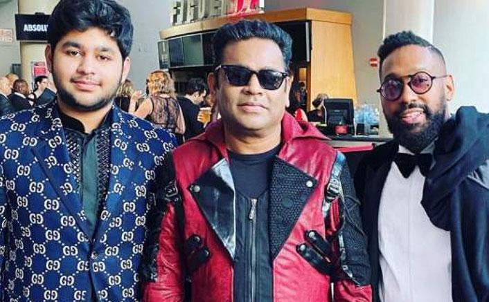 Grammys 2020: AR Rahman Poses With Maroon 5's PJ Morton