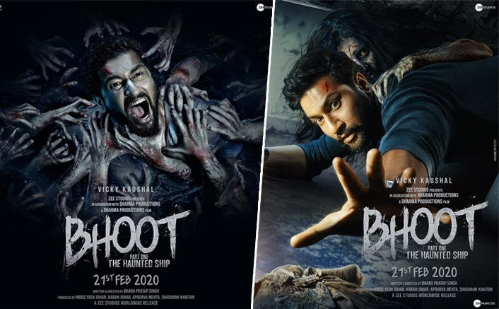 Bhoot Part One Posters: Vicky Kaushal's Screamy Expressions Are Enough To Send Chills Down Your Spine