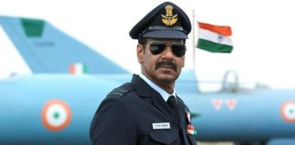 Bhuj: The Pride Of India: Ajay Devgn's First Look As IAF Wing Commander Vijay Karnik Looks Intriguing