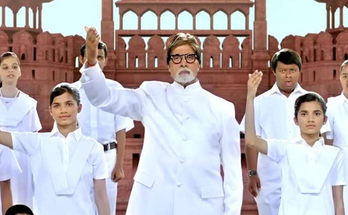 Republic Day 2020: Amitabh Bachchan Sings National Anthem With Differently-Abled Kids