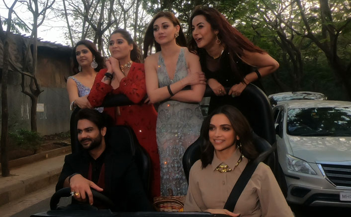 Bigg boss 13: Deepika Padukone Gives Us The Never-Seen-Before Glimpse As She Takes Rashami Desai, Shehnaaz Gill & Others Outside The House