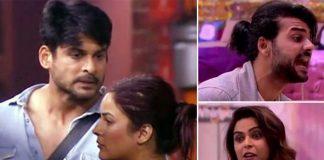Bigg Boss 13: Shehnaaz Gill HITS Sidharth Shukla, Madhurima Tuli Throws A Shoe At Vishal Aditya Singh In Anger; Watch