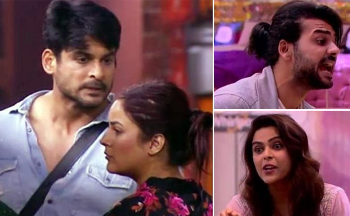 Bigg Boss 13: Shehnaaz Gill HITS Sidharth Shukla, Madhurima Tuli Throws A Shoe At Vishal Aditya Singh In Anger; Watch