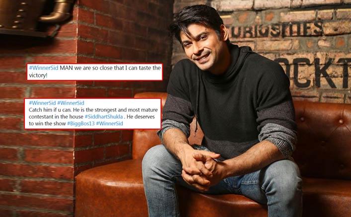 Bigg Boss 13: Sidharth Shukla Declared Winner By His Fans, #WinnerSid Trends