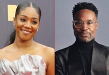 Billy Porter calls Tiffany Haddish a germaphobe