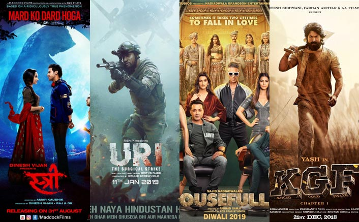 Box Office ROI% Of 2019 VS 2018: Uri To Housefull 4 & Stree To KGF; Visit The Most Profitable Films From The Two Most Lucrative Years