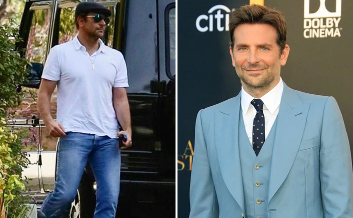Bradley Cooper flaunts his toned physique in white T-shirt
