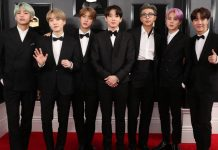 BTS take to Grammy stage for first time