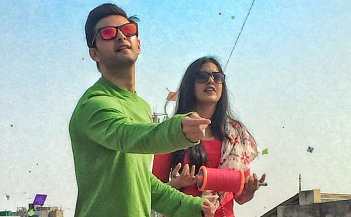 Busy Ishita Dutta, Vatsal Sheth skip kite flying on Uttarayan